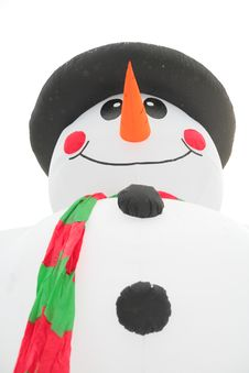 Free Inflatable Snowman Stock Images - 8632254