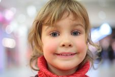 Free Portrait Of Little Girl Royalty Free Stock Images - 8632569