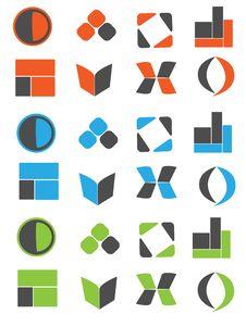 Free Logo6 Royalty Free Stock Photos - 8633398