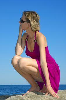 Free One Girl Enjoying Her Summer Stock Photos - 8633643