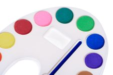Multicolor Paint Royalty Free Stock Image
