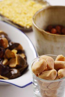 Free Bean And Nut-4.JPG Stock Photos - 8633973