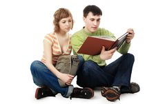 Free Reading Together Stock Photos - 8634013