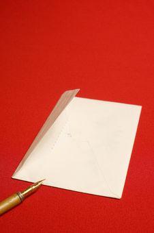 Free Envelope, Pen Royalty Free Stock Photos - 8634158