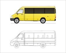 Free Mini Bus Stock Photos - 8635093