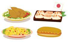 Free International Cuisine Stock Image - 8636161