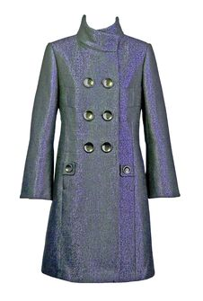 Gray Wool Coat Royalty Free Stock Images