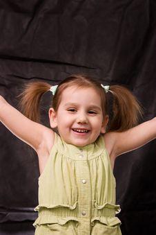 Free Playful Girl Stock Photography - 8637322