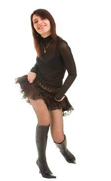 Free Playful Girl Stock Photo - 8638080