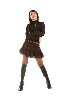 Free Playful Girl Royalty Free Stock Photo - 8638095