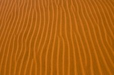 Free Sand Patterns In The Desert Royalty Free Stock Images - 8638489