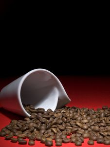 Free Coffee Beans Royalty Free Stock Photography - 8638867