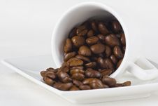 Free Coffee And Beans Stock Photos - 8639213