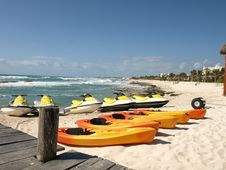 Free Coastal Activities. Stock Photo - 8639370