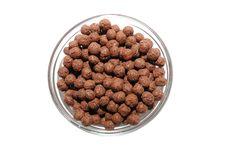 Free Bowl With Corn Flakes Royalty Free Stock Photos - 8639488