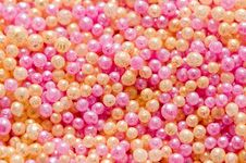 Background Of Colorful Balls Stock Photos