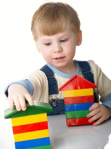 Free Boy Plays Stock Photography - 8639772