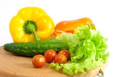 Free Fresh Vegetables For Salad Royalty Free Stock Image - 8639996