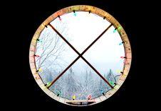 Free Circular Window Royalty Free Stock Photo - 86300055