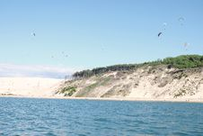 Free Flying Over The Sea Stock Photography - 86300152