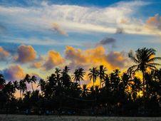 Free Island Sunset Royalty Free Stock Photography - 86300637