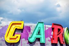 Free Big Colorful Letters Stock Photography - 86302132