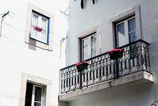 Free Cute Balcony Royalty Free Stock Photo - 86303215