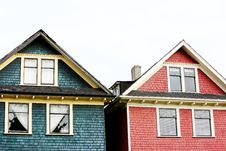 Free Colorful Houses Royalty Free Stock Photo - 86303285