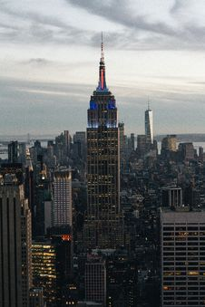 Free Empire State Building Royalty Free Stock Photo - 86303665