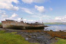 Free Scotish Wrecks Stock Image - 86304191
