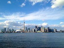 Free Toronto Island View Royalty Free Stock Images - 86304329