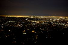 Free Downtown Los Angeles Royalty Free Stock Photos - 86304498