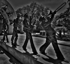 Free New Orleans Marching Brass Band - New Orleans, LA Stock Image - 86309181