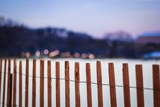 Free White House Ellipse Fence Stock Images - 86310244