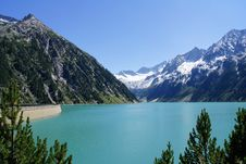 Free Mountain Reservoir Royalty Free Stock Image - 86353146