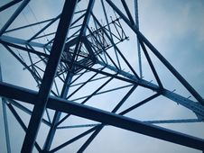 Free Low Angle View Of Electricity Pylon Against Sky Royalty Free Stock Image - 86353526