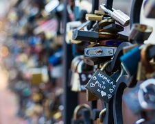 Free Love Locks Stock Images - 86354104