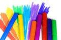 Free Seven Felt-tip Pens Royalty Free Stock Images - 8641319