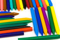 Free Some Bright Multi-coloured Wax Pencils Stock Photos - 8642703