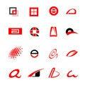 Free Logotypes Royalty Free Stock Photo - 8643275