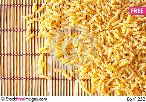 Free Raw Vermicelli Stock Photography - 8641252