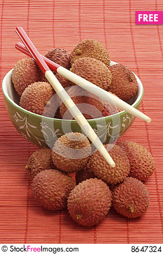 Free Litchis Stock Images - 8647324