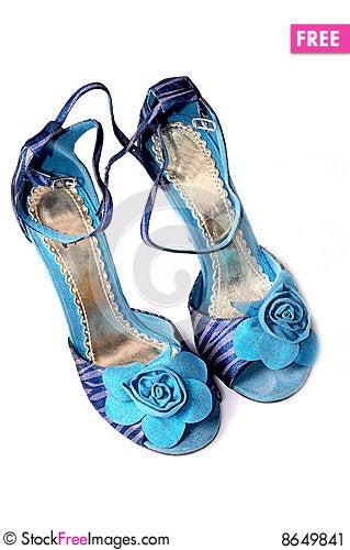 Free Ladies Footwear Stock Image - 8649841