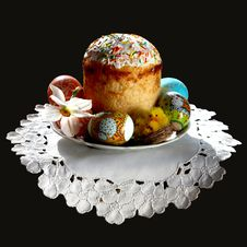 Free Easter Cake Royalty Free Stock Images - 8640179