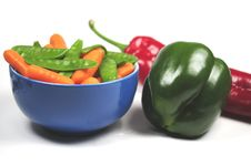 Free Eat Vegetables Stock Photo - 8640350