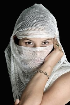 Free Arabian Girl Stock Photo - 8640450