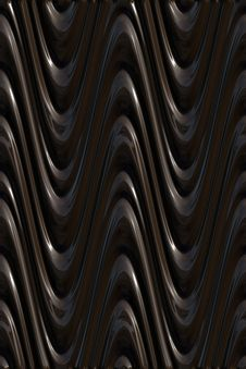 Free Dark 3d Waves Pattern Royalty Free Stock Images - 8640679