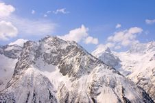Caucasus Mountain Stock Images