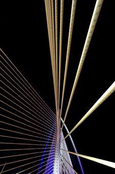 Millenium Bridge Putrajaya Royalty Free Stock Image