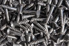 Free Pile Of Screws Royalty Free Stock Photos - 8641868